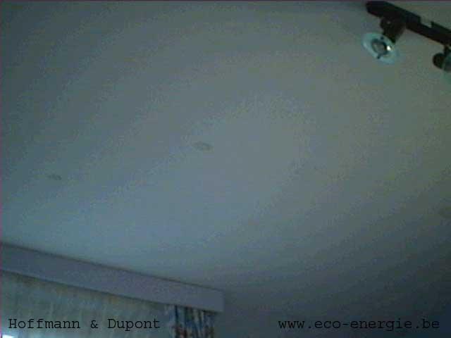 D tection de l 39 origine d 39 humidit dans le b timent expertises - Infiltration d eau plafond ...